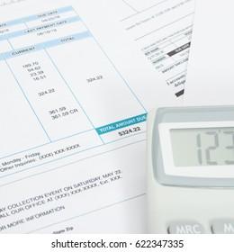 monthly bills images stock photos vectors shutterstock