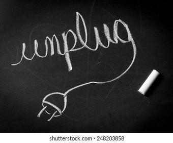 Unplug from electronics