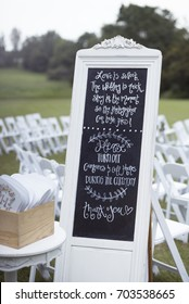 Unplugged Wedding No Photos Please Hipster Wedding Photographer Media Announcement Request Outdoor Setting