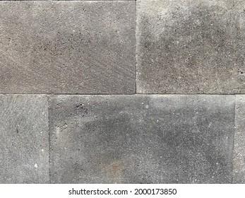 Unpolished Grey Textured Stone Brick