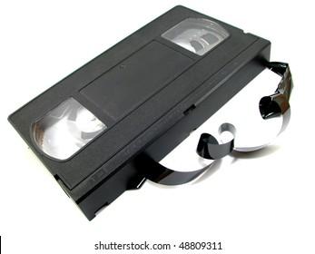 Unraveled VHS Videotape