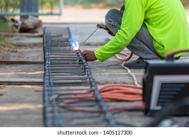 unsafe workers not used the glove, glass safety and safety shoes in time when they work on place, They welder the iron is dangerous time work