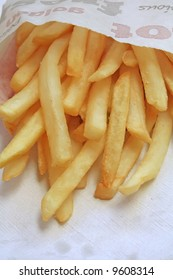 Unsalted french fries, the ultimate fast food side dish.