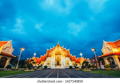 Unseen thailand, Wat Benchamabophit Dusitvanaram is a Buddhist temple in Bangkok, Thailand.it is one of Bangkok's most beautiful temples and a major tourist attraction