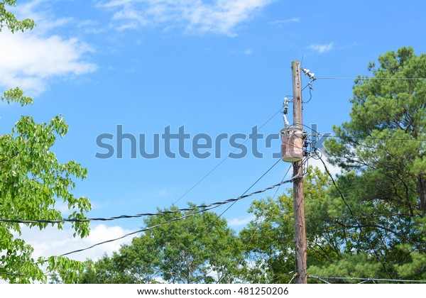 Unsightly Power Pole in My View