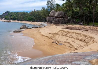 Untouchable Beach in Pattani Province ,Thailand .