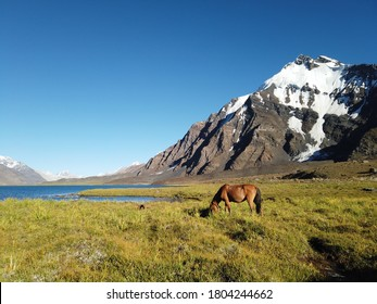 An untouched lake up north of Pakistan in Upper Chitral region. An exemplary place to experience your survival skills and to step out of your comfort zone