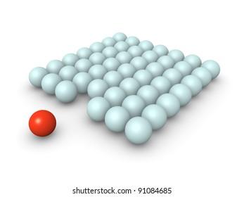 Unusual ball