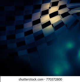 unusual geometric abstract background
