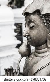 Upakut monk statue, Thailand.