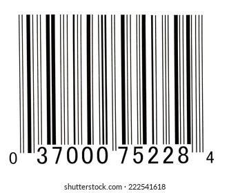 UPC Bar Code Illustration/ UPC Bar Code