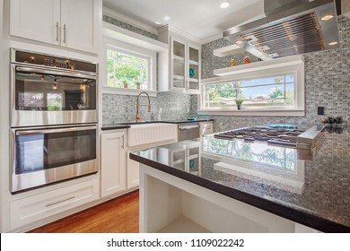 Updated Remodeled New White Kitchen
