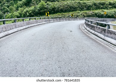 Uphill highway in Malaysia Genting Highland