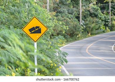 Uphill Sign