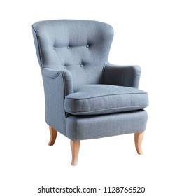 Pleasing Royalty Free Blue Wing Chair Stock Images Photos Vectors Short Links Chair Design For Home Short Linksinfo