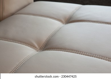 upholstery detail - leather