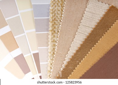 upholstery,curtain and color selection