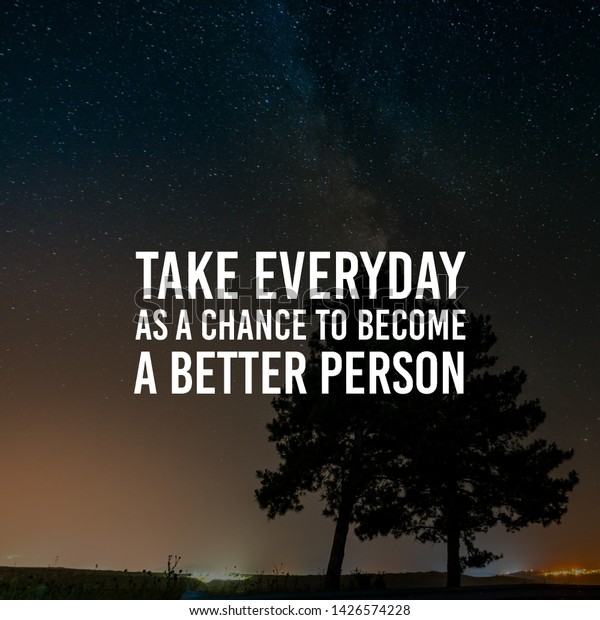 Uplifting Quote Best Motivational Quotes Sayings Stock Photo (Edit ...