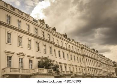 Upmarket apartments in Belgravia, London