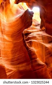 Upper Antelope Canyon in Arizona, United States