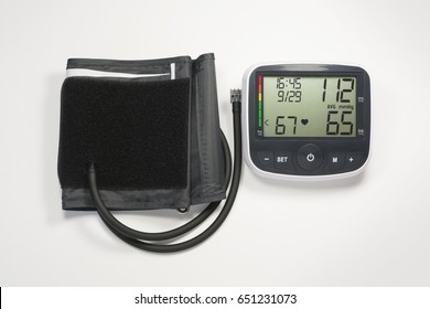 Upper Arm Blood Pressure Monitor (with clipping path)