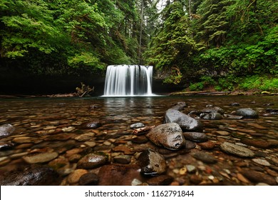Upper Butte Creek Falls in Oregon