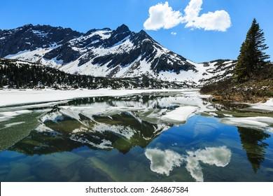 Upper Dewey lake, Skagway. Alaska