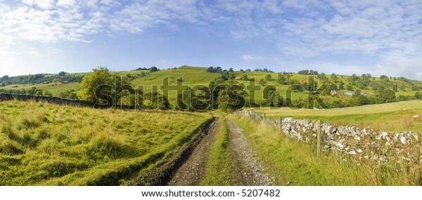 upper dovedale valley peak district national park derbyshire staffordshire england uk