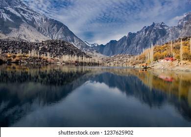 upper kachura lake skardu Pakistan