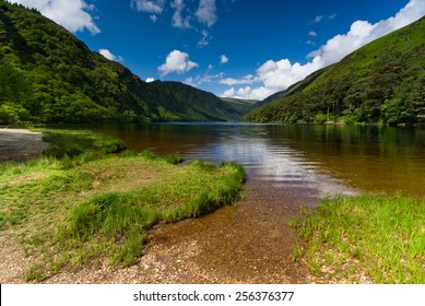 Upper Lake in Glendalough Scenic Park, County Wicklow, Republic of Ireland