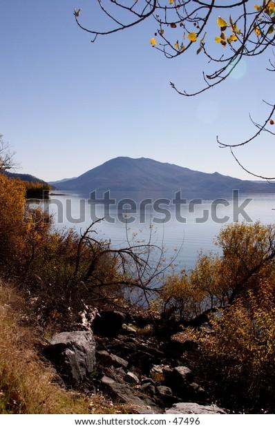 Upper Lake in Northern California