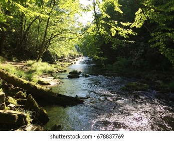 Upper Nantahala River in Western North Carolina