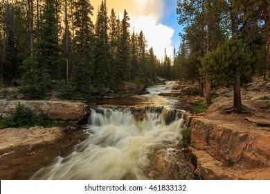Upper provo river in the Uinta Mountains, Utah, USA.