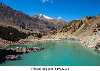 upper reaches Indus river, Sinthu river, Sindhu river headwater