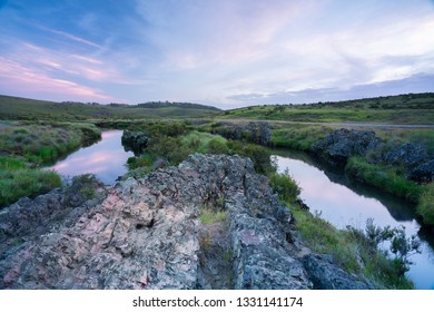 The upper reaches of the Murrumbidgee River. Northern Kosciuszko National Park. New South Wales, Australia.