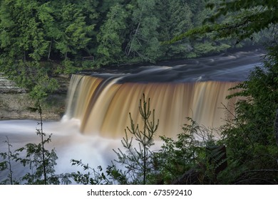 Upper Tahquamenon Falls in Michgan Upper Peninsula