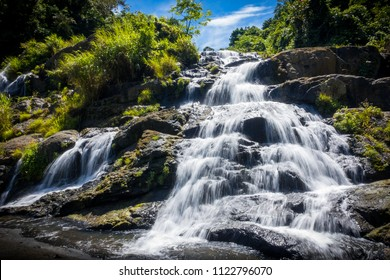 Upper Tarangban Falls, after climbing up from the base - Calbayog, Samar - Philippines