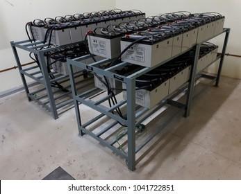 UPS - uninterruptible power supply batteries