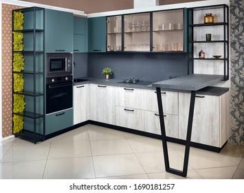 Breakfast Bar Kitchen Images Stock Photos Vectors Shutterstock