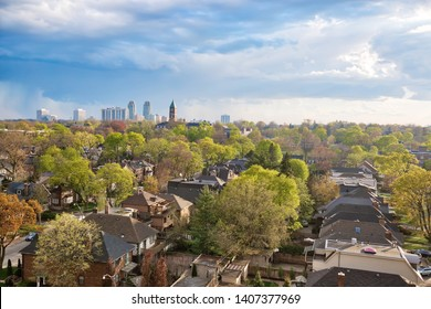 Upscale Eglinton and Forest Hill residential area coveted by middle and upper class families as well as Ontario developers