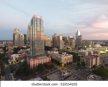 Uptown Charlotte Aerial Photos