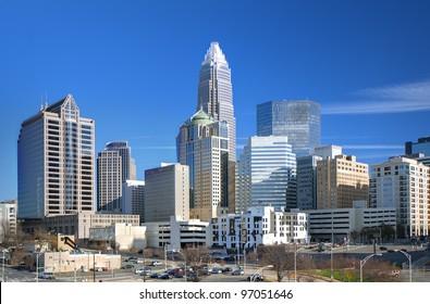 Uptown Charlotte, North Carolina