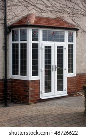 uPVC French Doors fitted in Bay