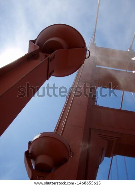Upward Perspective Art Deco Lights Tower Stock Photo (Edit ...