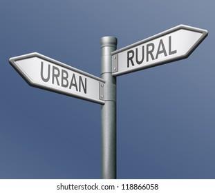 uran or rural urbanization