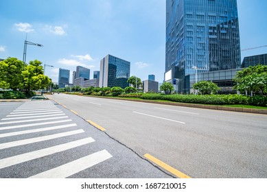 Urban architecture and urban traffic highway in Foshan, Guangdong, China