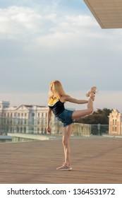 urban ballet dancer