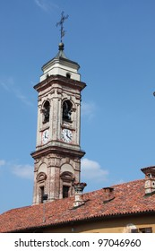 Urban building historic center in Piedmont Italy