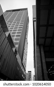 Urban buildings, skyscrapers