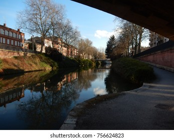 Urban Canal in Day